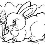 Símbolos da Páscoa para Colorir | Figuras e Coelhinhos (Foto Ilustrativa)