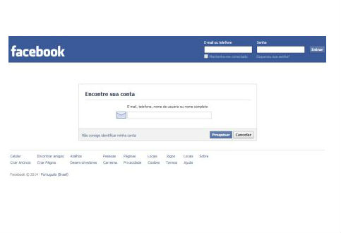 Adicionando informações para encontrar o seu perfil (Foto: Divulgação)