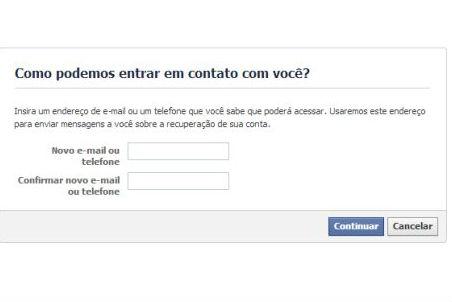 Se você não tem mais acesso ao e-mail cadastrado, precisará da ajuda de amigos para confirmar a sua identidade (Foto: Divulgação)
