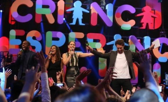 O show foi realizado no dia 02 de julho. (Foto: Reprodução/Globo)