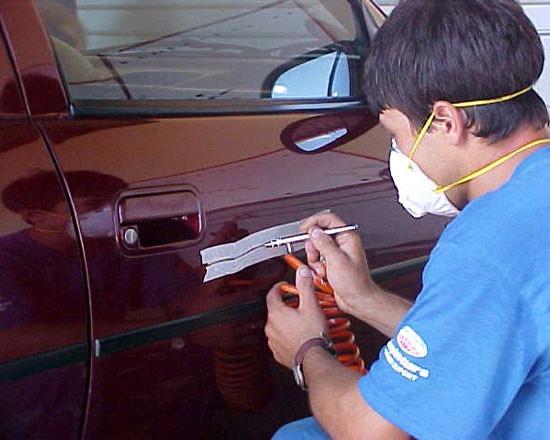 Aprenda a pintar os carros (Foto: Divulgação)