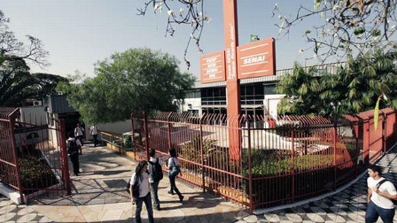 A Escola Senai de Sorocaba conta com um grande número de alunos (Foto: Reprodução Senai Sorocaba)