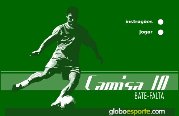 Na versão atualizada do game é possível apenas usar o jogo de bater faltas (Foto: Reprodução Globoesporte.com)