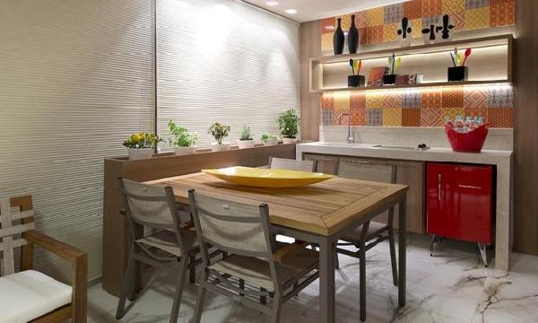 Cozinha clean (Foto Divulgação: MdeMulher)