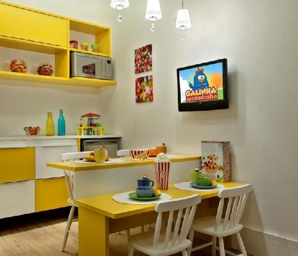 Cozinha charmosa (Foto Divulgação: MdeMulher)