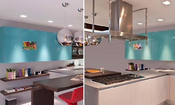 Cozinha moderna (Foto Divulgação: MdeMulher)