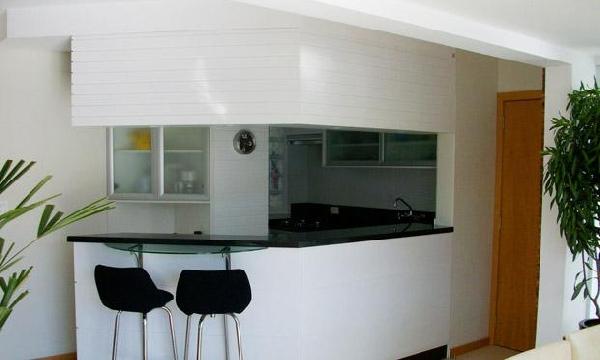 Cozinha de canto (Foto Divulgação: MdeMulher)