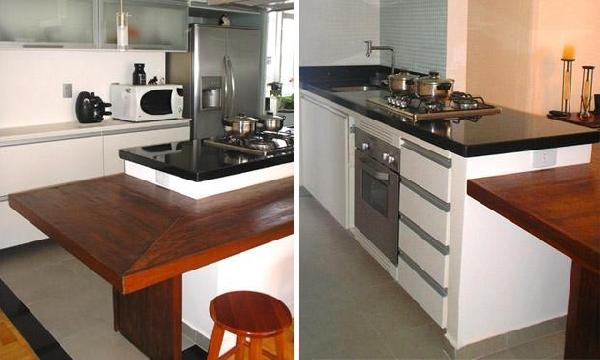 Cozinha prática (Foto Divulgação: MdeMulher)