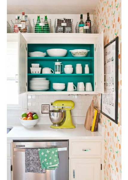 Cozinha estilo retrô (Foto Divulgação: MdeMulher)