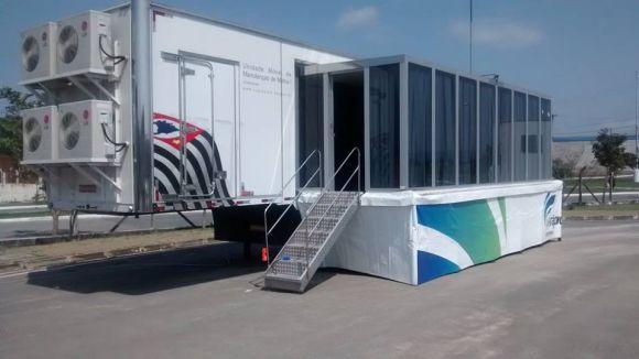 As aulas serão ministradas nas unidades móveis do Via Rápida Emprego (Foto: Divulgação Via Rápida)