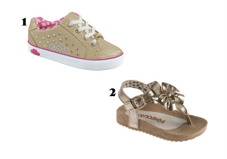 Mais calçados infantis oara a primavera verão 2016 (Foto: Mdemulher)