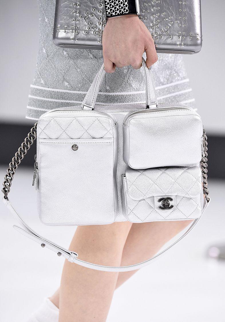 Bolsa branca na primavera verão 2016 (Foto: Mdemulher)