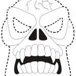 Vários distes disponibilizam máscaras como essa para serem impressas (Foto Ilustrativa)