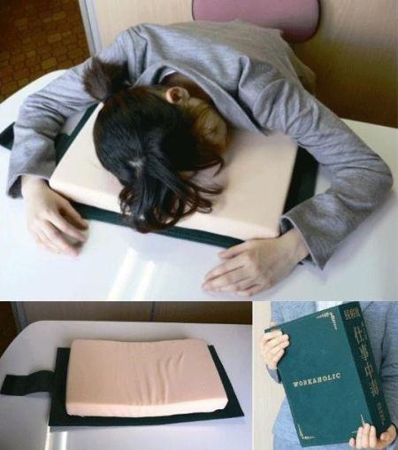 Travesseiro livro (Foto Ilustrativa)