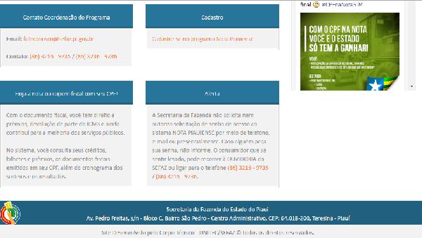 São inúmeros prêmios (Foto Divulgação: Portal/Piauí)