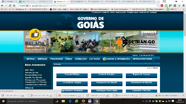 O Detran Goiás disponibiliza vários serviços (Foto Divulgação: Detran)