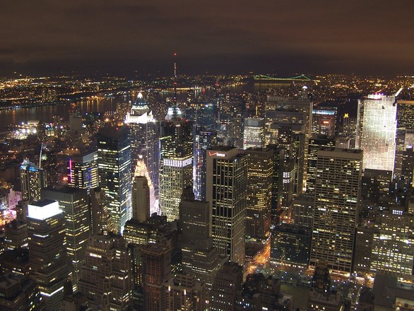 Nova York fica mais iluminada ainda nesta época do ano ()Foto: Divulgação)