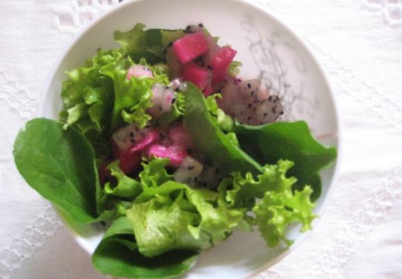 Salada de pitaya. (Foto Ilustrativa)