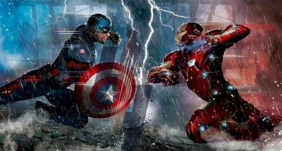 Capitão América: Guerra Civil (Foto Ilustrativa)