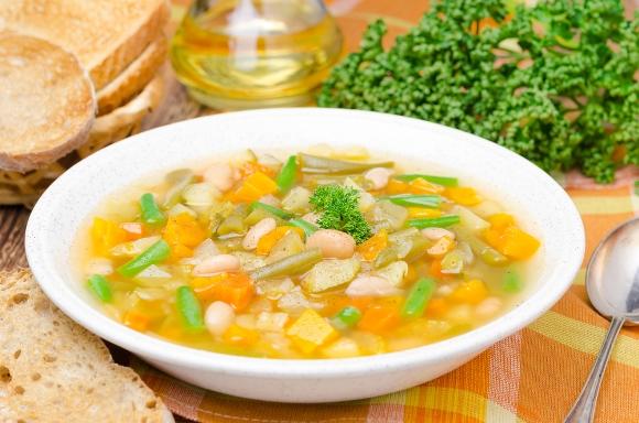 Sopa de legumes. (Foto Ilustrativa)