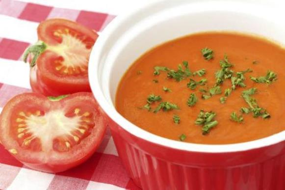 Sopa de tomate. (Foto Ilustrativa)