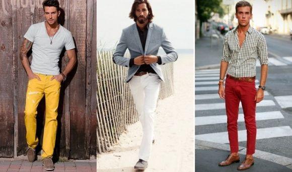 A calça colorida combina com diferentes estilos (Foto Ilustrativa)