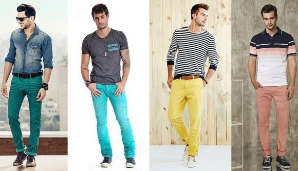 5 dicas para usar calças coloridas masculinas (Foto Ilustrativa)