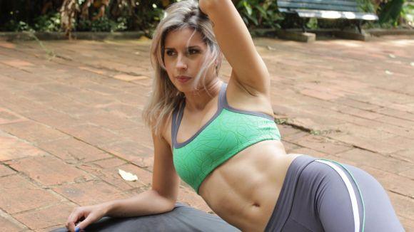 5 exercícios para deixar a barriga definida (Foto Ilustrativa)