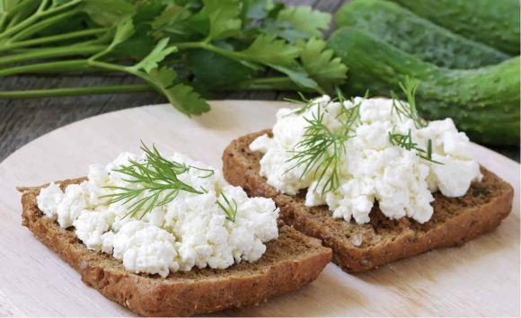 Os lanches com queijo cottage são uma ótima pedida (Foto Ilustrativa)