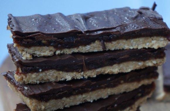 Barrinha fit de chocolate. (Foto Ilustrativa)