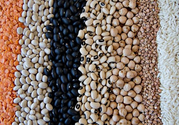 Existem diferentes tipos de feijão e arroz também  (Foto: Divulgação(
