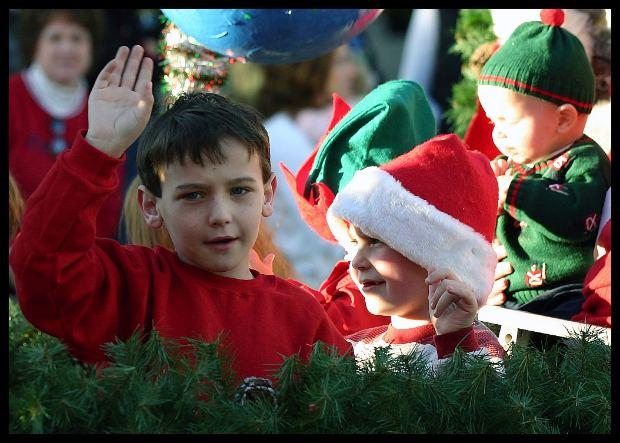 Crianças adoram a energia do Natal (Foto: Divulgação)