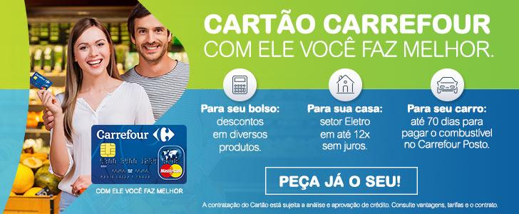 Se acontecer algum previsto e não der para pagar em dia o cartão Carrefour. calma que tudo tem uma solução (Foto: Divulgação)