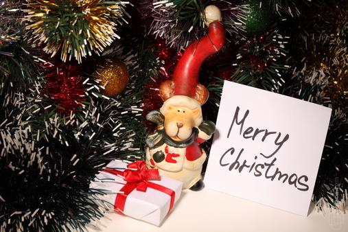 Cartão pode virar enfeite na noite de natal (Foto: Divulgação)