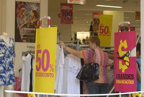 Lojas aproveitam para reaquecer as vendas (Foto: Divulgação)