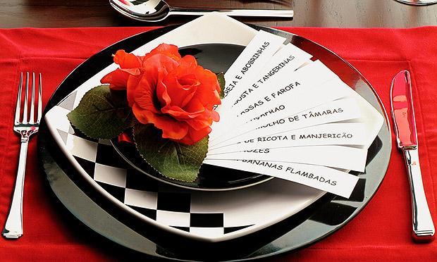 Pratos delicados e lindos (Foto: Mdemulher)