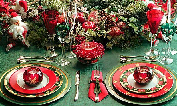 Decore a sua mesa para o Natal (Foto: Mdemulher)