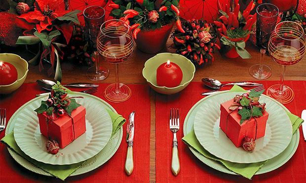 Aposte na melhor decoiração possível para uma bela ceia de Natal (Foto: Mdemulher)