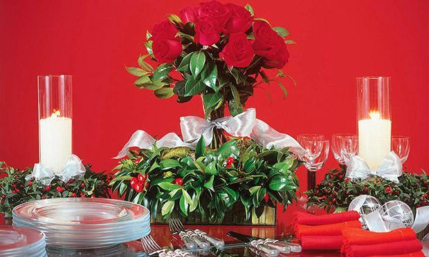 Use o vermelho e o verde para a ceia de Natal (Foto: Mdemulher)