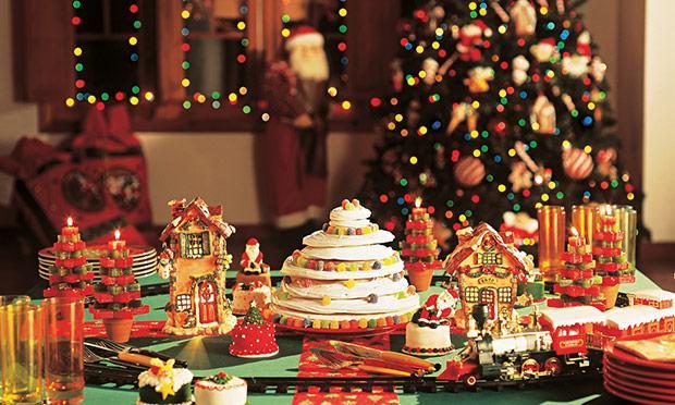 mais um exempl ode mesa linda de Natal (Foto: Mdemulher)