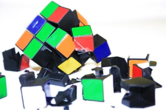 O cubo mágico é um enigma para muitas pessoas. (Foto Ilustrativa)