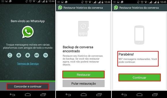 Desinstale e instale o app. (Foto Ilustrativa)