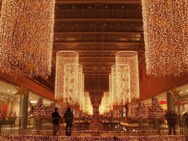 São investidos milhões de reais na decoração (Foto: Divulgação)