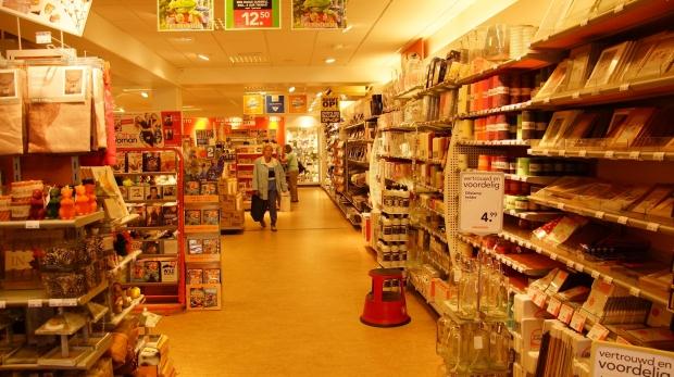 Decoração de Natal em supermercados (Foto: Divulgação)