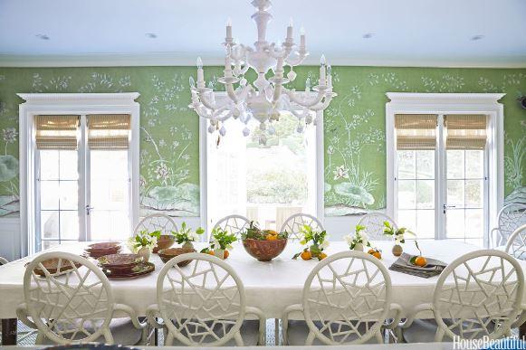 Sala de jantar com decoração clássica. (Foto Ilustrativa)