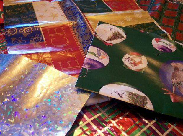 Papel de Parede de papel de presentes (Foto: Divulgação)