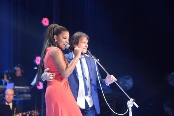 A funkeira Ludmila cantou com o rei. (Foto Ilustrativa)