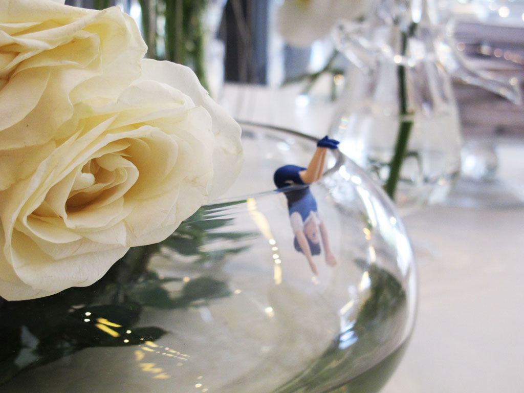 Rosas brancas fazem total diferença (Foto: Casa Abril)