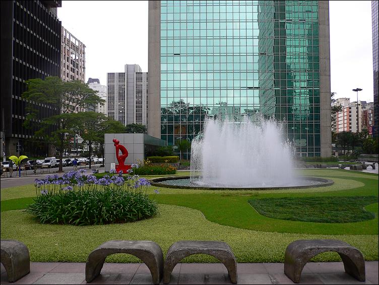 Jardim Paulistas e uma das suas belas vistas (Foto: Divulgação)