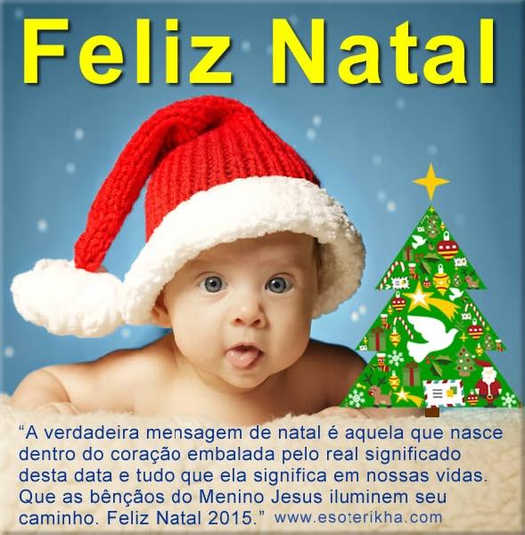 Mensagens de Natal 2015 (Foto: Divulgação)